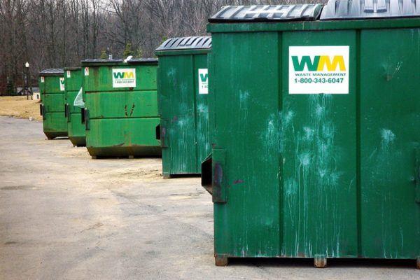 garbage bin washing service