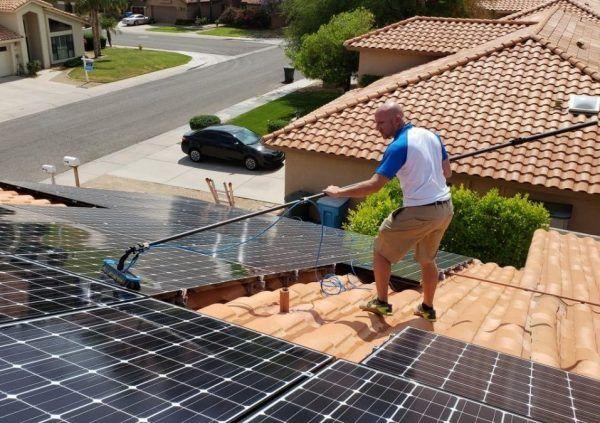 solar panel cleaner phoenix az