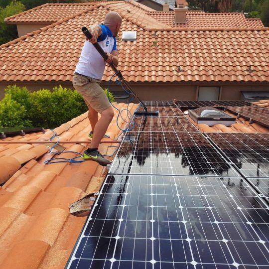 solar panel washing phoenix az