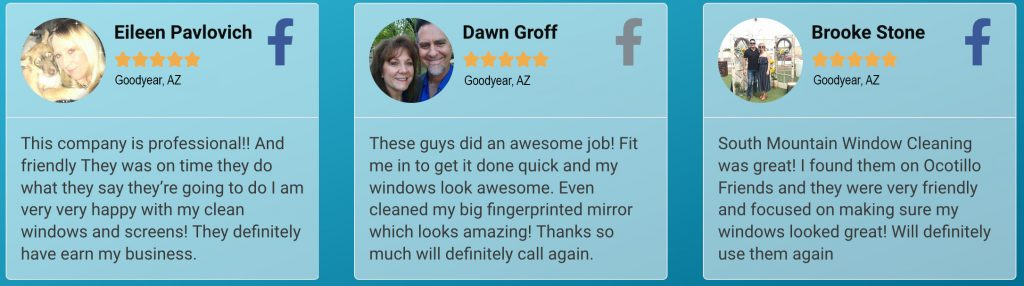 Goodyear Window Cleaning Reviews